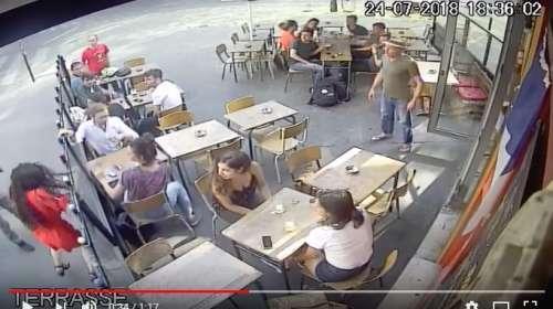 Brutal agresión a una mujer en la calle en París