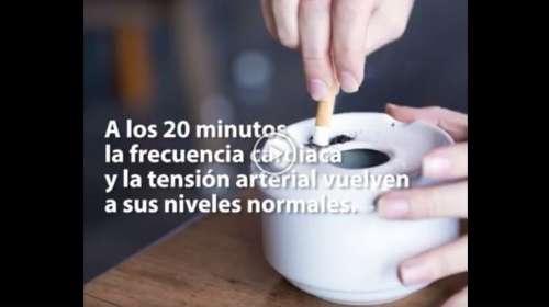 Esto es lo que le pasa a tu organismo cuando dejas de fumar