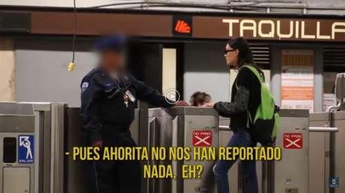 Experimento con cámara oculta pone en evidencia a los policías mexicanos