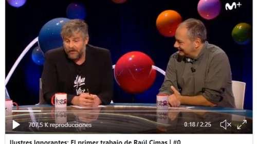 La hilarante anécdota de Raúl Cimas y su primer trabajo con los franchutes