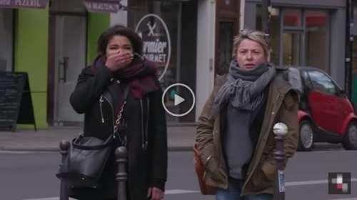 La impactante campaña en París para que los peatones no crucen en rojo