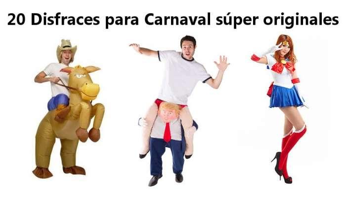Los disfraces de carnaval más originales