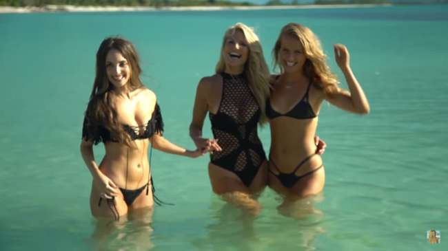 alexa ray joel, christie brinkley y sailor brinkley